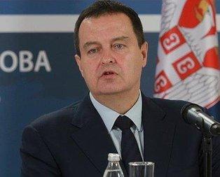 Sırbistandan Türkiyeye destek mesajı