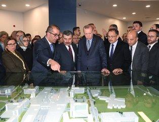Başkan Erdoğan Bilkent Şehir Hastanesi'nin açılışına katıldı
