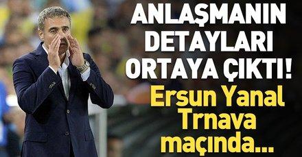 """Fenerbahçe Ersun Yanal'la anlaştı: """"Nerede kalmıştık"""""""