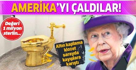 İngiltere'de saraydan altın klozet çalındı
