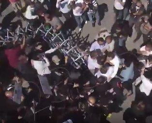 Ankara'da izinsiz gösteri yapan avukatlar polise saldırdı! Ankara Emniyeti suç duyurunda bulunacak