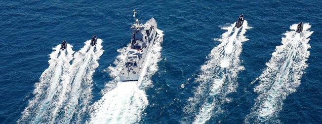 Türkiye ile Katar arasında deniz tatbikatı