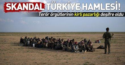 Kirli pazarlık! YPG/PKK, DEAŞ'lı teröristlere Türkiye güzergahını açtı