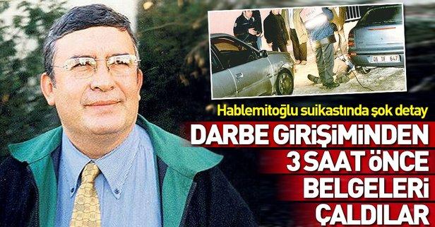 Necip Hablemitoğlu suikastında flaş gelişme
