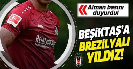 Alman basını duyurdu! Beşiktaş'ta transferde yeni hedef Walace