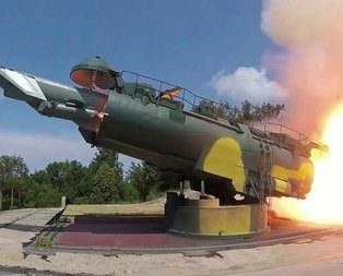 Rusya görüntüleri yayınladı! Karadeniz'den ateşledi