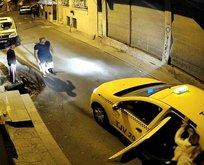Eşini sokak ortasında kaçıran zorba yakalandı