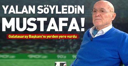 Hıncal Uluç Mustafa Cengizi yerden yere vurdu