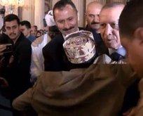 Başkan Erdoğan'ı şaşırtan sevgi!