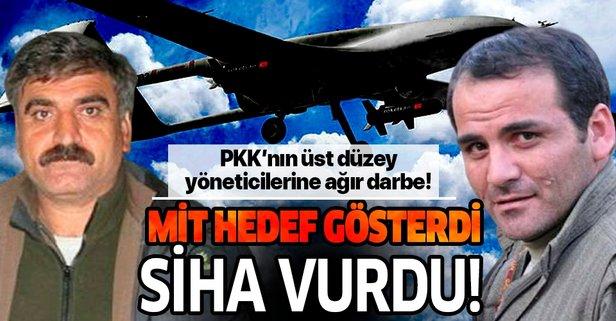 PKK'nın üst düzey yöneticilerine ağır darbe!