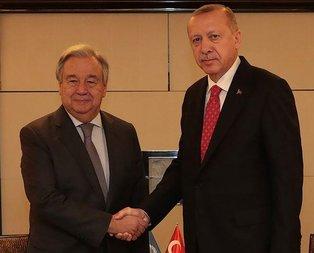 Başkan Erdoğan'dan kritik görüşme