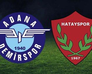 Adana Demirspor-Hatayspor maçı hangi kanalda?