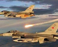 Irakın kuzeyine hava harekatı!
