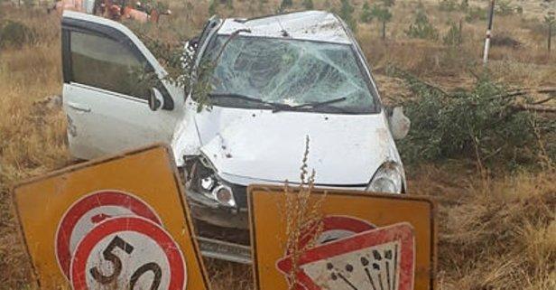 Kahramanmaraş'ta feci kaza! 4 yaralı