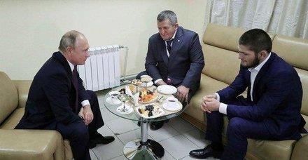 Rusya Devlet Başkanı Putin Nurmagomedov'u tebrik etti
