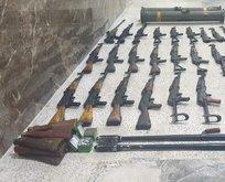 PKK'nın cephaneleği ele geçirildi!
