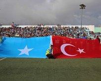 Somalide Erdoğan sloganları