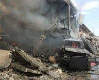 Mahkemeye bomba yüklü araçla saldırı