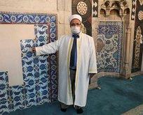 Ulu Camii'nin çinileri Hollanda'dan çıktı