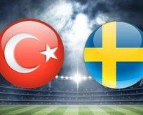 Türkiye - İsveç maçı hangi kanalda, ne zaman, saat kaçta?
