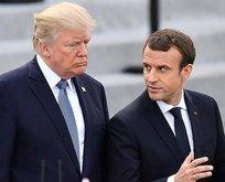 Trump'tan Macron'a Kovid-19 telefonu