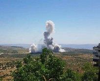 Son dakika: İdlib'de alçak saldırı! Yola önceden döşenen EYP, TSK konvoyunun geçişi sırasında infilak ettirildi