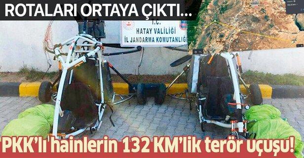 132 km'lik terör uçuşu: O teröristler böyle geldi