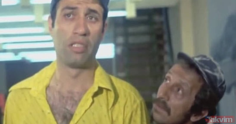 Avanak Apti filminde Kemal Sunal'ın kravat yedirme sahnesi bakın nasıl çekilmiş