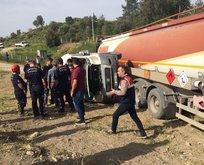 Tankerle öğrenci servisi çarpıştı! Yaralılar var..