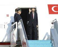 Başkan Erdoğan tarihi zirve için İran'da