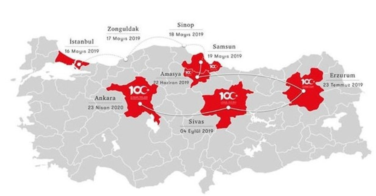 Baskan Erdogan Son Karari Verdi Iste 19 Mayis 1919 Un 100 Yil
