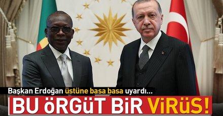Başkan Erdoğan: Amerikanın bu örgüte ödediği para 800-850 milyon dolar