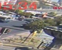 Ankara Mamak'ta 3 kişinin öldüğü kaza anı kamerada