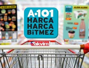 A101'de yeni kampanyalar görücüye çıktı! A101 aktüel kataloğunda bu hafta yiyecek ve temizlik ürünleri...