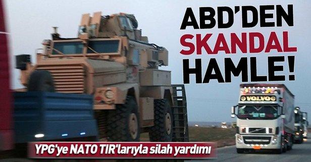 YPG'ye NATO TIR'larıyla silah yardımı