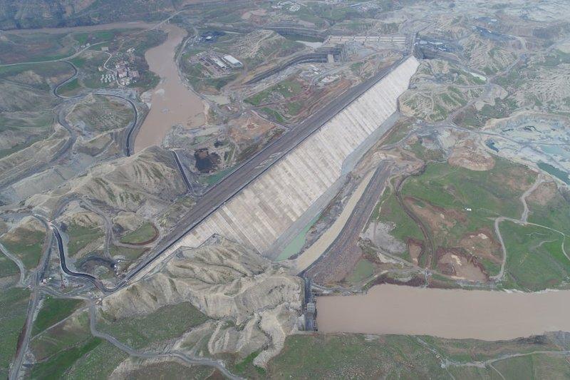 Ilısu Barajı önümüzdeki ay su tutmaya başlıyor
