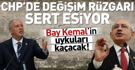 CHPde değişim rüzgarı sert esiyor! Kılıçdaroğluna kötü haber