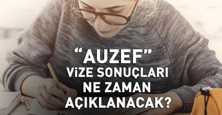 AUZEF sınav sonuçları ne zaman açıklanacak? 2018 İstanbul Üniversitesi AUZEF vize sınavı