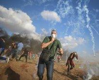 İşgalci İsrail yine Filistinlilere saldırdı!