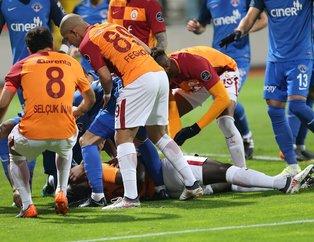 Galatasaraylı Gomis neden bayıldı?
