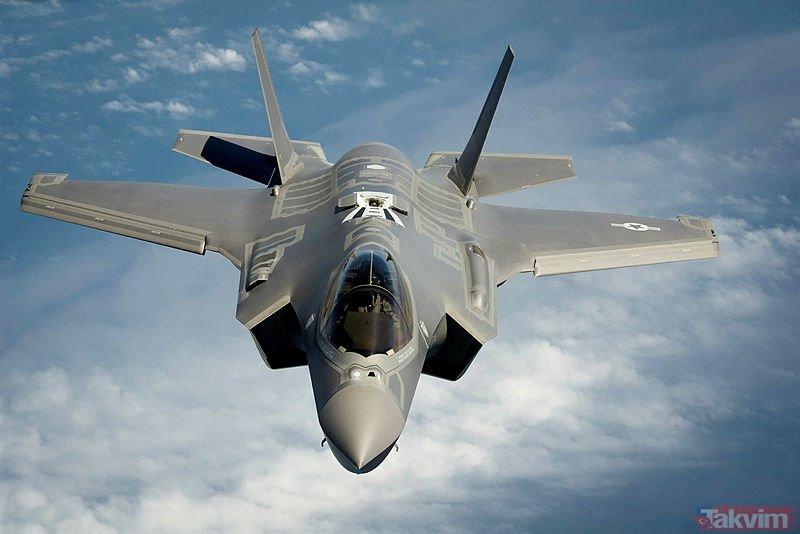 F-35 savaş uçağının tüm özellikleri