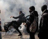 Fransa'da koronavirüs ülkeyi karıştırdı! Halk sokaklara indi