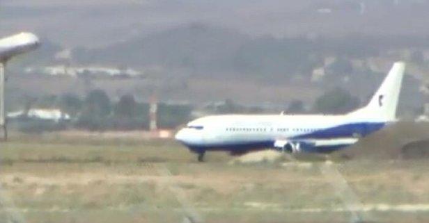 Havalimanında büyü panik! Yolcu uçağı acil iniş yaptı