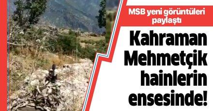 MSB yeni görüntüler paylaştı! Kahraman Mehmetçik Pençe Kaplan operasyonu ile teröristlerin ensesinde!