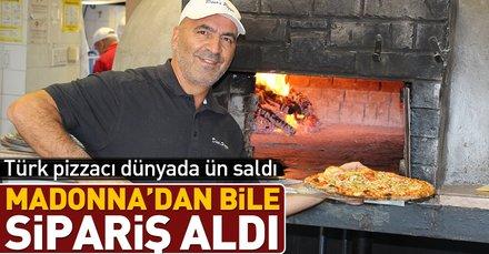 Zeynel Arı evsizlere pizza dağıtıyor
