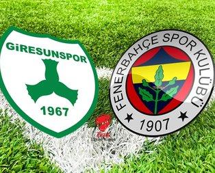 Giresunspor - Fenerbahçe maçı ne zaman?