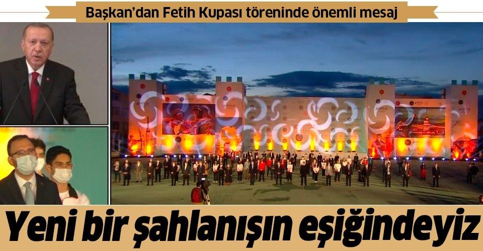 Son dakika: Başkan Erdoğan'dan İstanbul'un Fethi'nin 567. yıl dönümünde önemli açıklamalar