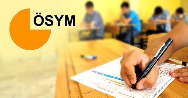 ÖSYM'den 'YKS' açıklaması
