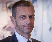 UEFA Başkanı açıkladı: Galatasarayın durumu...