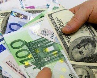Euro ve dolar zirve yaptı